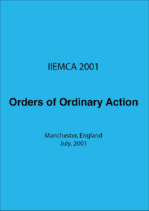 IIEMCA 2001 Orders of Ordinary Action