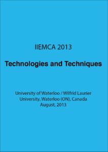IIEMCA 2013 Technologies and Techniques