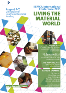 IIEMCA 2015 Living the Material World